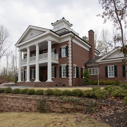 Columned Home